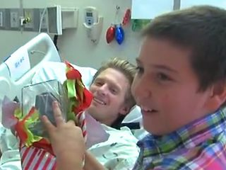 12-year-old comes to aid of injured adventurer