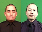 2 New York cops ambushed, fatally shot in car