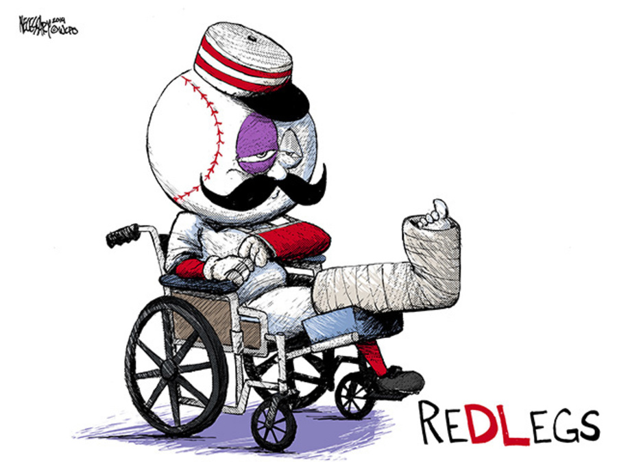 Image result for mr. redlegs losing