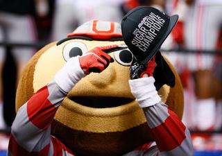 Ohio State celebrates Sugar Bowl win over 'Bama
