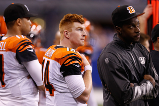 Bengals battle Colts in AFC wild-card game