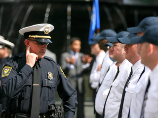 More cops by 2016 means more bosses, too