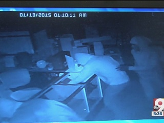 WATCH: Gun store smash-and-grabbers leave trail