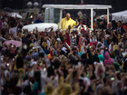 Pope Francis urges Filipinos to protect children