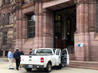 City Hall increases security after truck ramming