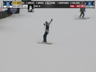 WATCH: Goepper wins another ski slopestyle gold