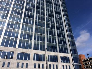 Gunshots shatter windows at Great American Tower