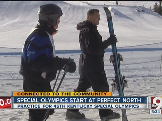 Special Olympians hit the slopes in Winter Games