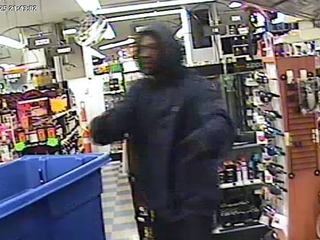 Do you know this man? NKY liquor store robbed