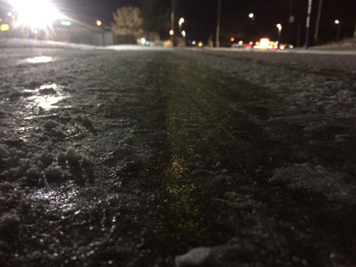 Tri-State wakes up to snow, slick roads