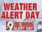 What does a Weather Alert Day mean?