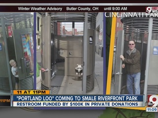 Will you use city's new $100,000 outdoor toilet?