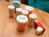 When & where to drop off expired, unused meds