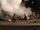 Historic Sardinia feed mill consumed by flames