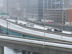 TRAFFIC: Roads becoming icy, slick at rush hour