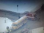 Driver, kids hurt in Warren Co. school bus crash