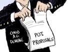 CARTOON: DeWine burns out Ohio pot plan