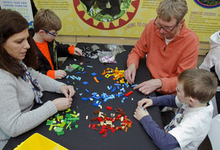 Krohn Conservatory hosts Lego competition