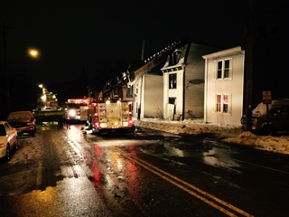 Early morning house fire shuts down Glenway Ave.