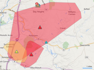 Duke Energy: Thousands of outages in Clermont Co