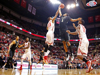 Foul shots, Russell's 28 lead OSU past Purdue