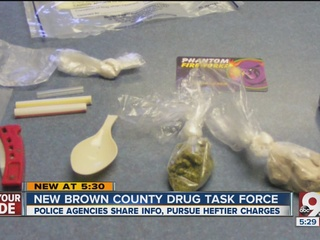Brown Co. cops team up to fight heroin, crime