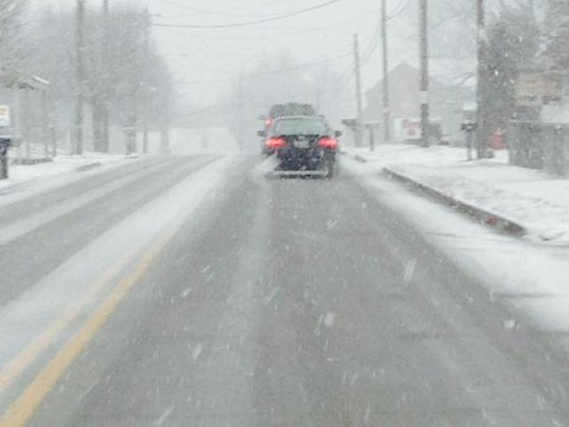Heavy snow starts to fall across Tri-State