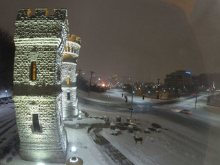 TIME-LAPSE: Zoom through Wednesday's snow storm