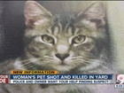 Murder mystery: Who shot Houdini the cat?