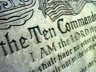 Ohio school retiring Ten Commandments plaque