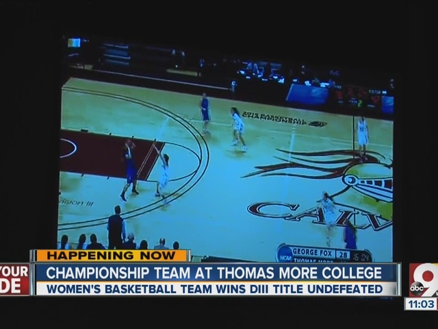 Thomas More College wins national title in women's basketball