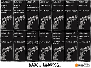 CARTOON: A new, violent kind of 'March Madness'