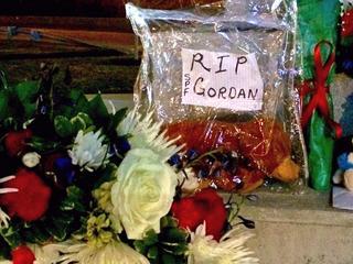 Tri-State memorials mourning CDF Daryl Gordon