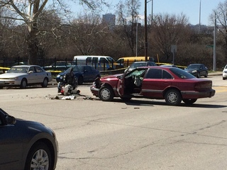 Police: Officer struck during funeral procession