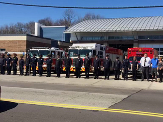 Mourners line procession route for FAO Gordon