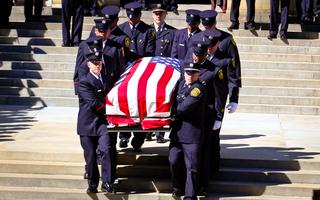 PHOTOS: Funeral service for FAO Daryl Gordon