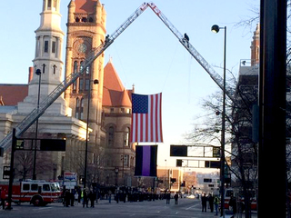 WATCH LIVE: Funeral procession begins downtown