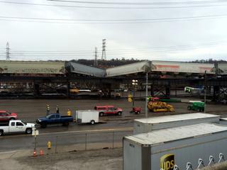 CSX: Six train cars derail near Queensgate yard