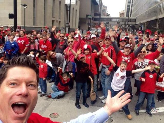 Red Opening Day Parade 2015 Reds Opening Day 2015 This