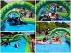 Giant slip-and-slide to splash into Cincinnati