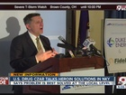 Drug czar gives pep talk about fighting heroin
