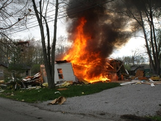 House explosion in Bethel