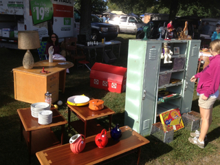 Flea markets open outdoors as weather warms