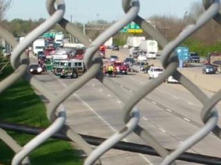NB I-71 closed at I-275