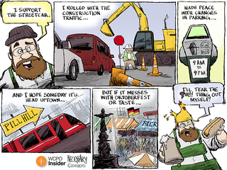 Cartoon: Don't mess with Oktoberfest