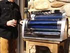 Solar inventor touts green approach to BBQ grill