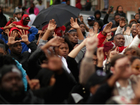 Protests for Freddie Gray turn violent