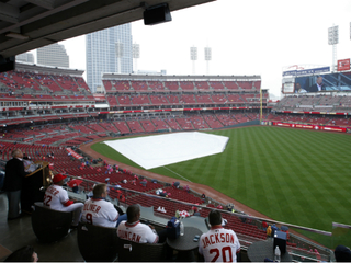 Cubs at Reds postponed after 4-hour rain delay