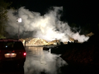 Firefighters respond to pallet fire in Harrison