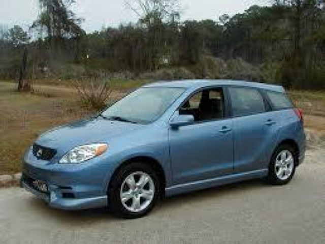 Toyota Matrix Light Blue